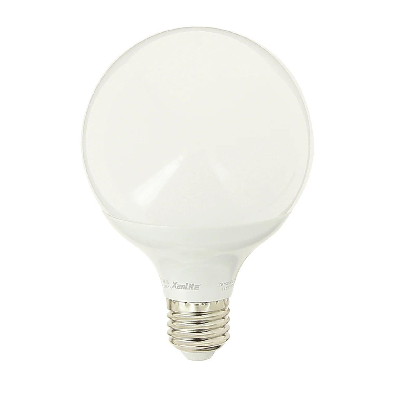 Ampoule Led Globe 95 Mm E27 1521 Lm 100 W Blanc Neutre Xanlite Leroy Merlin