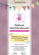 Festival dell'Handmade - I Nuovi Creativi, Verona 24-25 novembre 2012