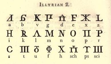 Иллирийский язык