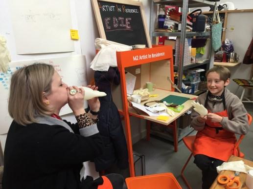 Making udders for The Udder World
