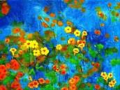 """Flowering Glade"" Ben Potter : http://fineartamerica.com/profiles/ben-potter.html"