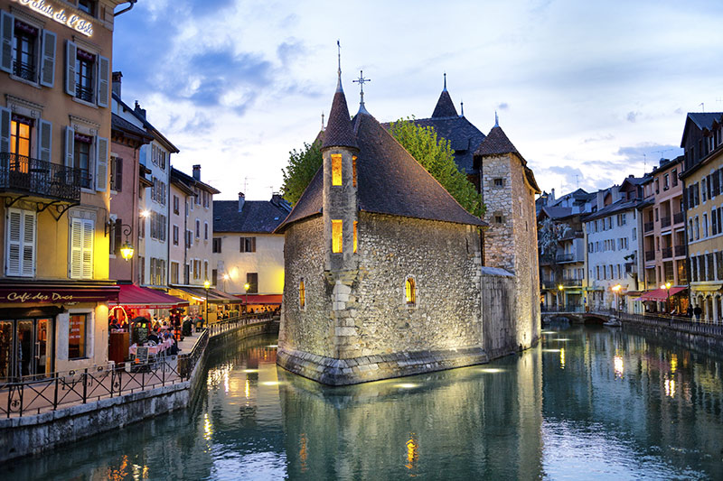 Annecy France motorcycle tour