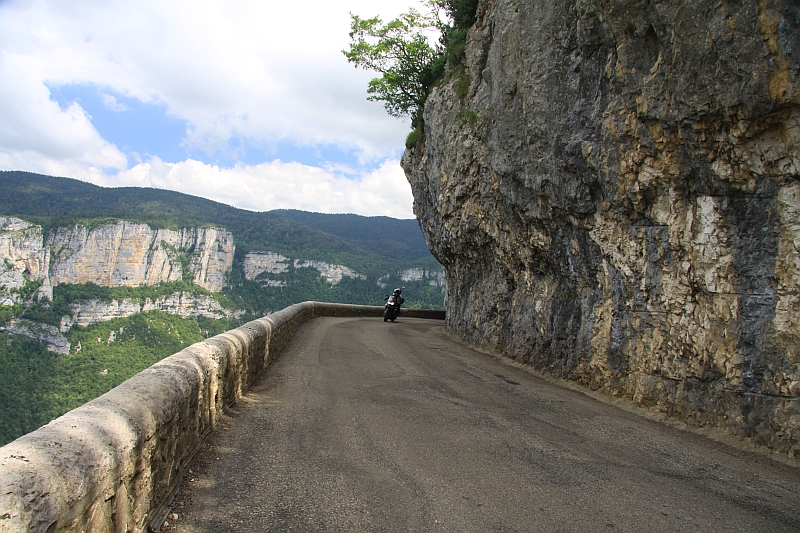 motorcycle tour France Vercors