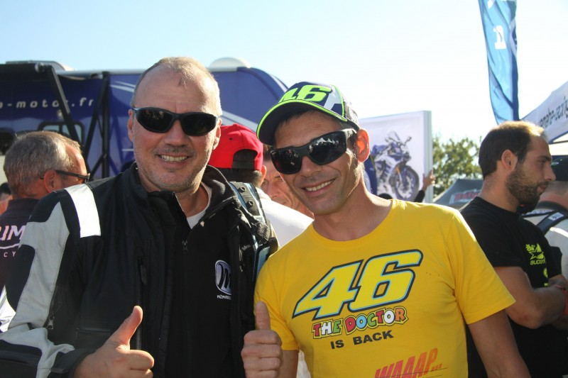 valentino rossi motorcycle tour