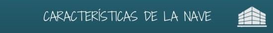 CARACTERISITICAS DE LA NAVE