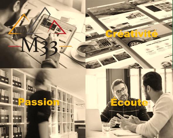 M33 entreprise