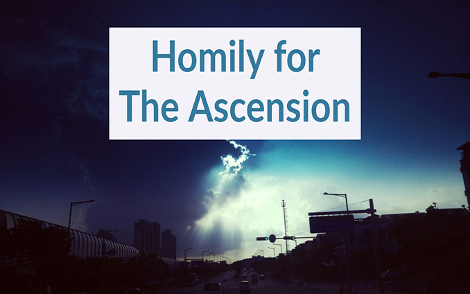 Homily For The Ascension