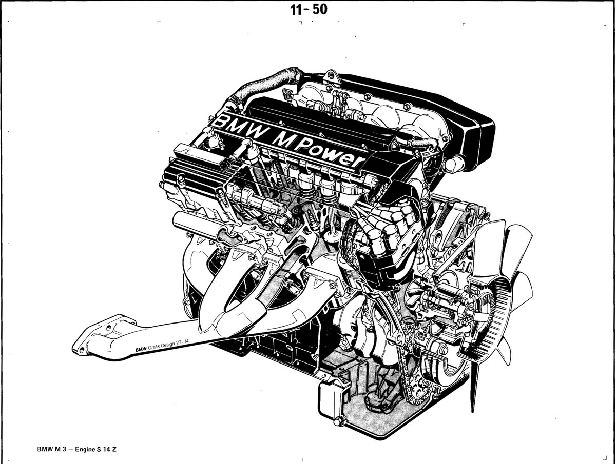 Pierre S E30 M3 Buildup Engine S14