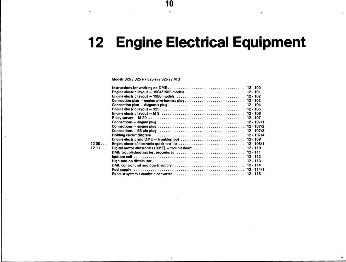Pierre S E30 M3 Buildup Engine Electrical Equipment