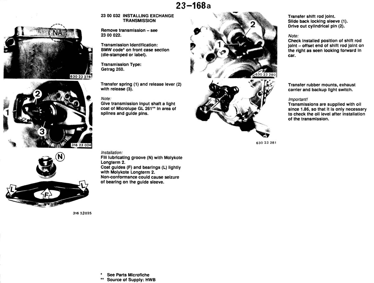 Pierre S E30 M3 Buildup Manual Transmission