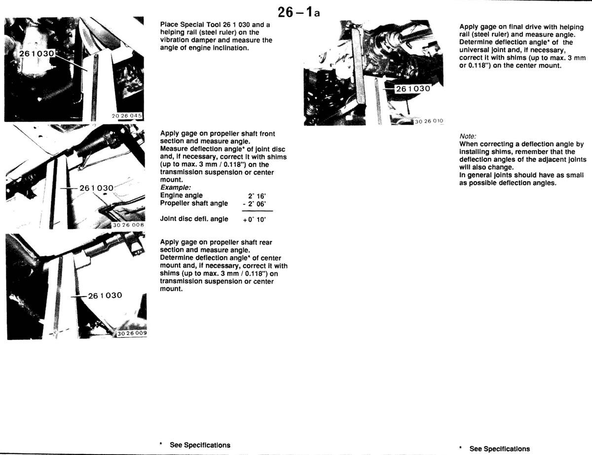 Pierre S E30 M3 Buildup Propeller Shaft