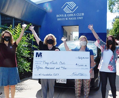 Donation to Boys and Girls Club