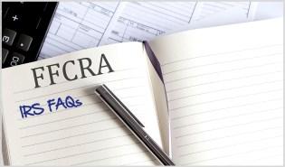 FFCRA IRS FAQs