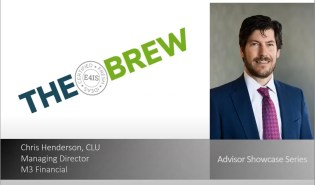 Chris Henderson on The BREW with E4IS