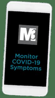 COVID Health Tracker App_inside