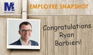 Employee Snapshot Ryan Barbieri