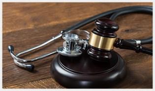 ACA Gavel Stethoscope Image