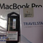 MacBook Pro (13-inch, Mid 2012 MD101J/A) のメモリ&HDD換装