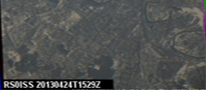 SSTV from the ISS this afternoon