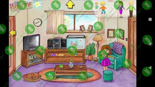 صور من داخل لعبة Play Home Doll House