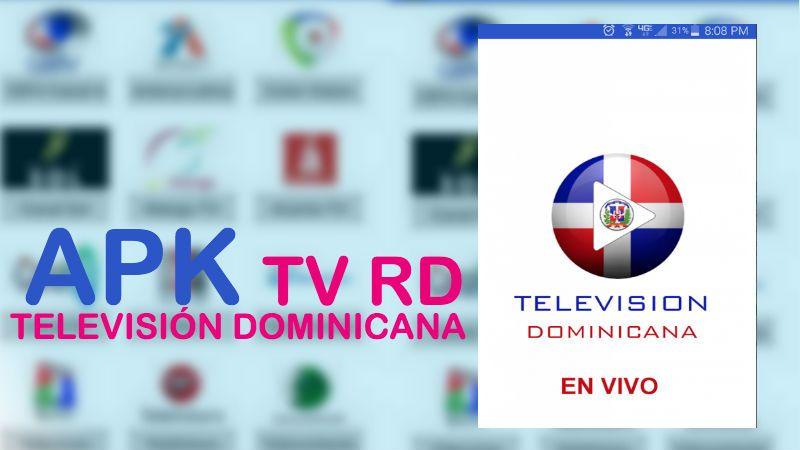 tv rd television dominicana apk app android descargar instalar