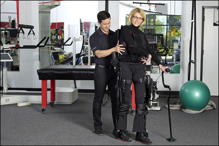 The Ekso GT robotic exoskeleton recently received FDA clearance.