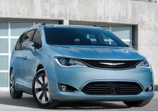 Chrysler Pacifica 2017 - front