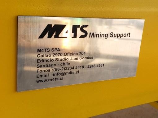 M4TS TAG Plate
