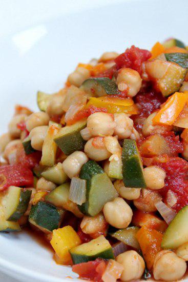 Mediterranean Chickpea Stew