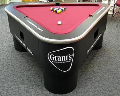 Top 10 Crazy And Unusual Shaped Pool Tables Paperblog