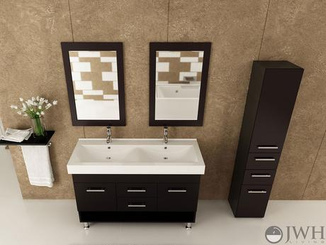 Bathroom Vanities Under $1000 double sink bathroom vanity under $1000 : brightpulse