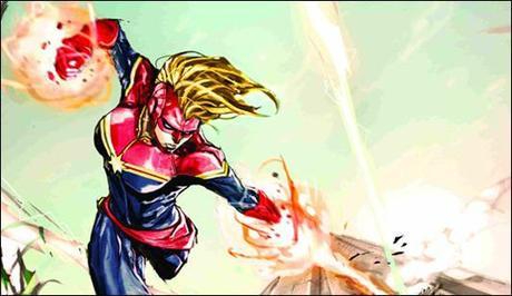 Carol Danvers Captain Marvel Comics Costume