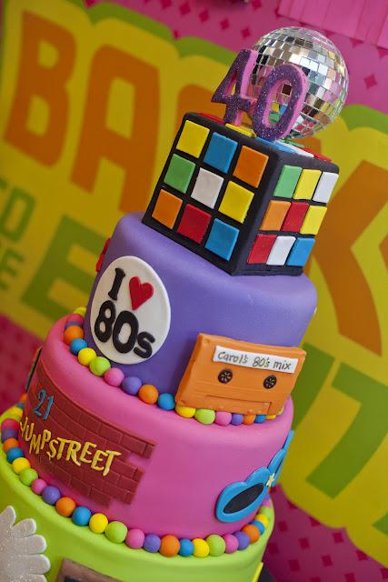 Little Big Company S 80s Themed Party Styling Paperblog