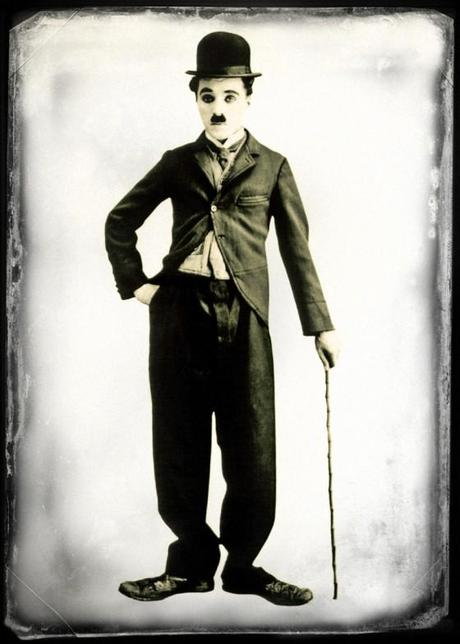 Image of the comedian, Charlie Chaplain