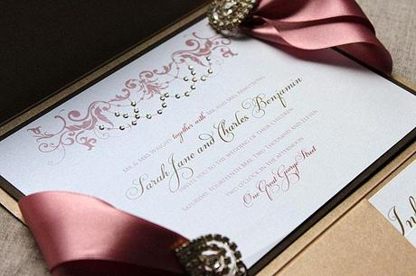 Win Luxury Wedding Invitations Paperblog