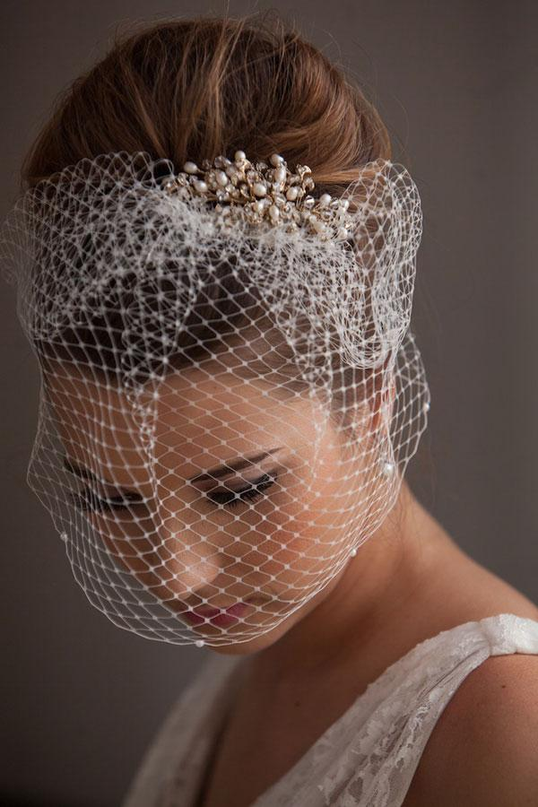 The Loveliest Vintage Bridal Hair Accessory A Whimsical