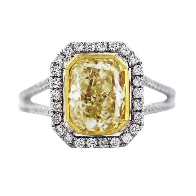 Eye Candy Yellow Diamond Engagement Rings Paperblog