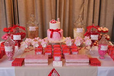 Pink And Red Polka Dot Themed 1st Birthday By Eat Sweet