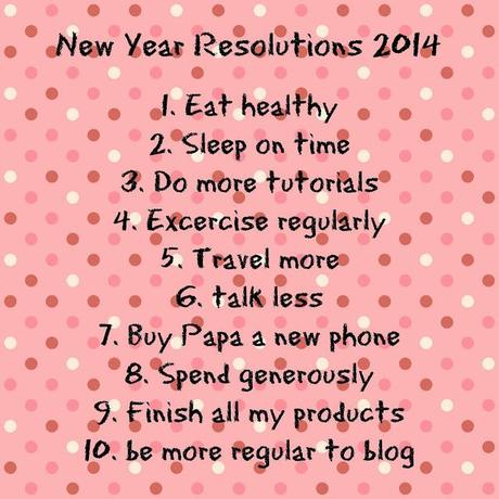 My New Year Resolutions 2014 - Paperblog
