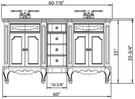 what is the standard height of a bathroom vanity? - paperblog