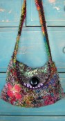 silk yarn bag