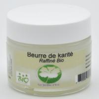 Beurre de Karité Bio.