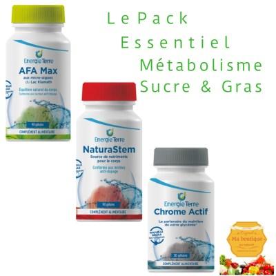 L'Essentiel Métabolisme, Sucre, Gras 1 mois
