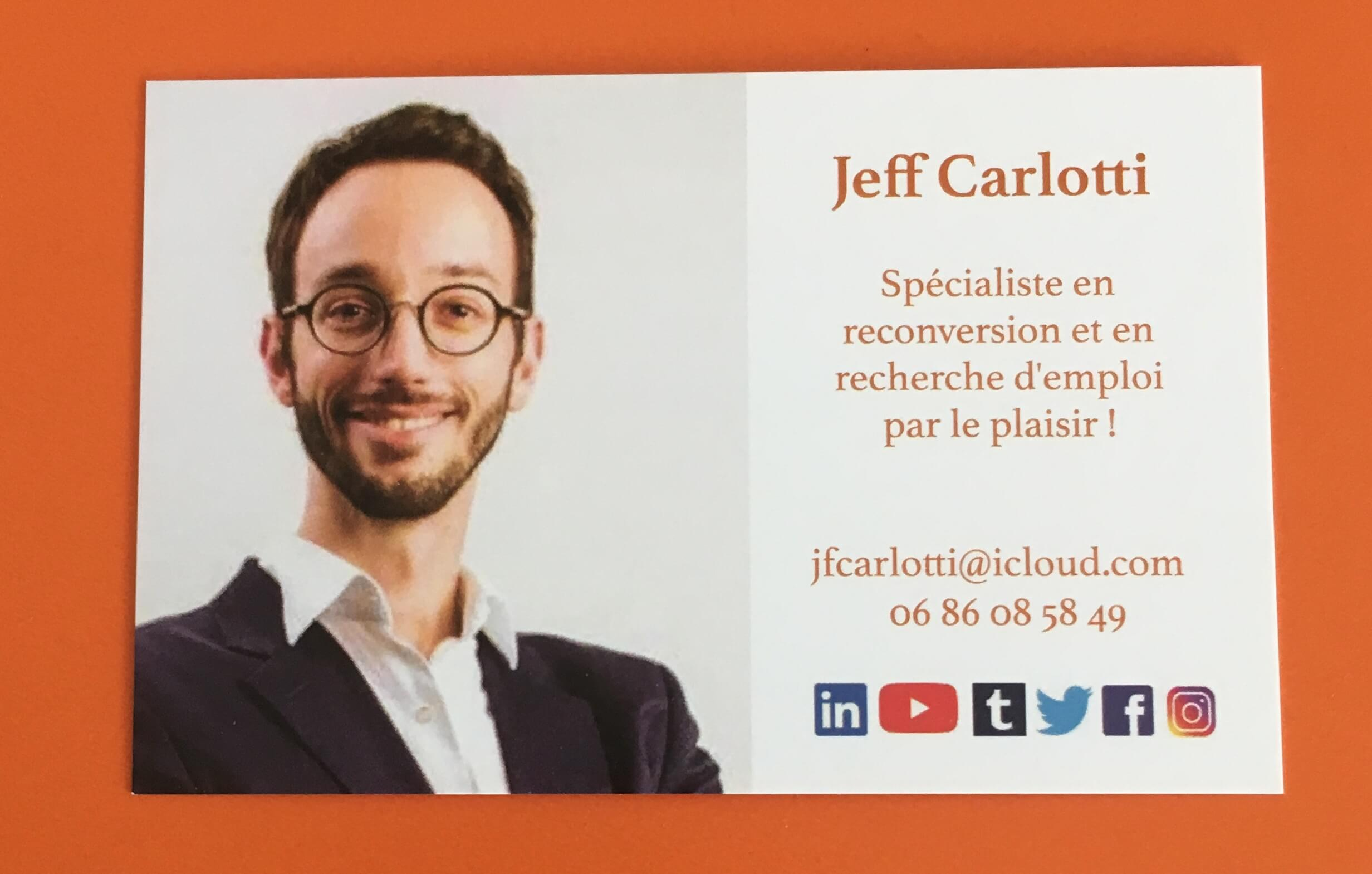 Ma carte de visite officielle 😎