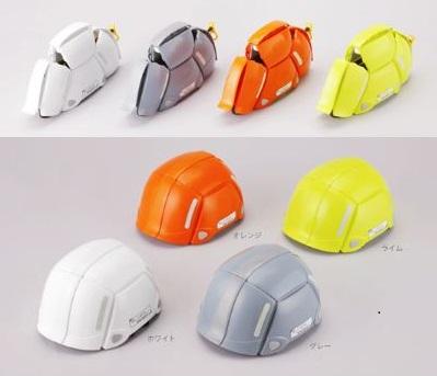 紐を引くだけでヘルメットに早変わり!携帯にも便利な防災ヘルメット「BLOOM」