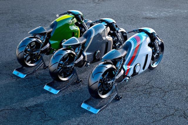 F1で有名な自動車メーカーのロータス、初のバイク「C-01]は、デザインも凄いが、価格も凄い!