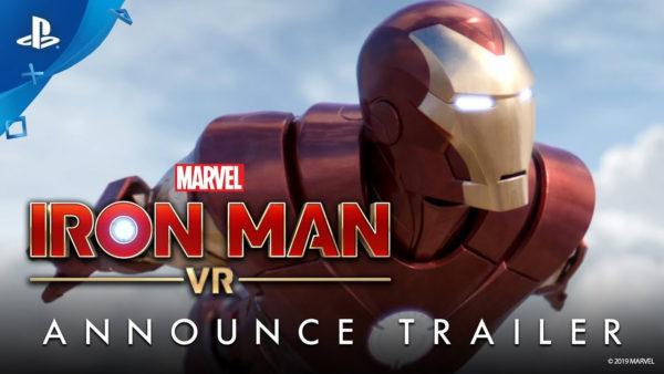 あなたも、アイアンマン?VR技術のゲーム『マーベルアイアンマン VR』PS4!