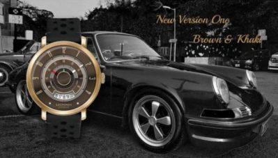 おしゃれウォッチ! 「LECRONOS」ヴィンテージ車のタコメーターがモデルの腕時計に…
