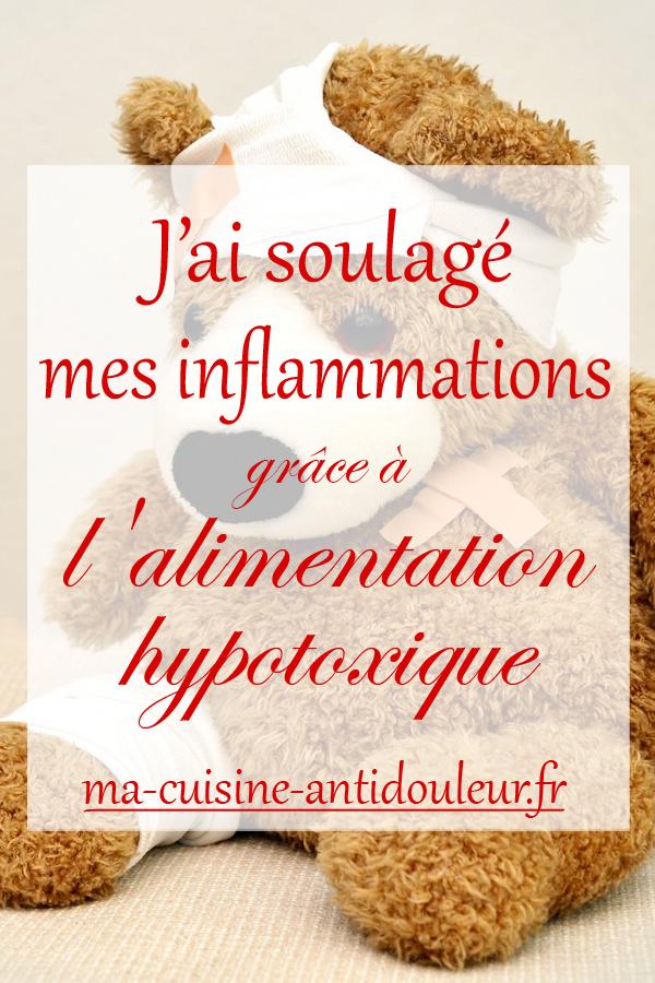 Comment j'ai soulagé mes inflammations grâce à l'alimentation hypotoxique