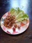 Salade d'aubergine parfumée
